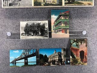 lot of 10 Vintage Postcards   louisiana   Postmark 1963  1924 1952 Scenic   Includes Real Picture Postcard s