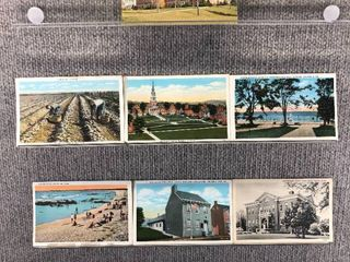lot of 10 Vintage Postcards   louisiana  Maine   Maryland   Bourbon St  Schools   Potato Pickin