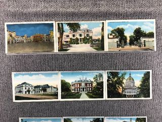 lot of 9 Vintage Postcards   Maryland   Illinois   Broadway   Annapolis