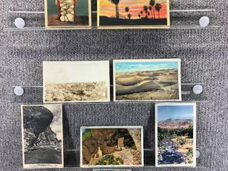 lot of 10 Vintage Postcards   Arizona   Postmark 1946  Scenic landscapes   Includes Real Picture Postcard s