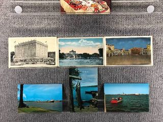 lot of 8 Vintage Postcards   Massachusetts  Illinois   Michigan   Building   landscape