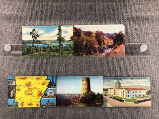 lot of 10 Vintage Postcards   Arizona   Arkansas   Postmark 1944 1946 Scenic landscapes
