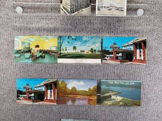 lot of 10 Vintage Postcards   Minnesota   Missouri   Postmark 1952   1953 Kc   Scenic Sites