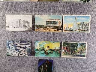 lot of 10 Vintage Postcards   Minnesota   Missouri   Postmark 1952  1976  1942  1951 lake   Scenic