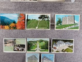 lot of 10 Vintage Postcards   Minnesota   Nebraska   North Carolina   Postmark 1960 Fields of Wood   Scenic
