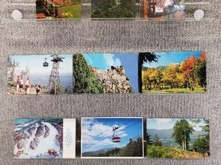lot of 10 Vintage Postcards   New Hampshire   Postmark 1957 Scenic