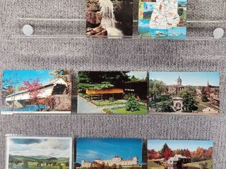 lot of 9 Vintage Postcards   New Hampshire   Postmark 1964 Greetings  Scenic