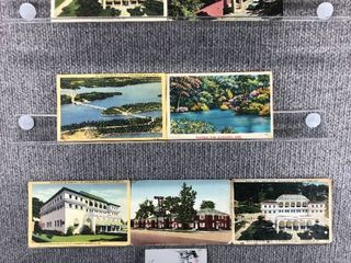 lot of 10 Vintage Postcards   Arkansas   Postmark 1947  1967 Buildings   landscape   Includes Real Picture Postcard s