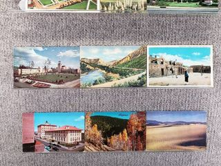 lot of 10 Vintage Postcards   New Jersey   New Mexico   Postmark 1954  1951 landscape