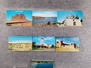 lot of 10 Vintage Postcards   New Jersey   New Mexico   Postmark 1951  1958   Includes Real Picture Postcard s