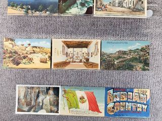 lot of 10 Vintage Postcards   New Jersey   New Mexico   Church   Scenic