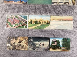 lot of 10 Vintage Postcards   New Jersey   New Mexico   Scenic landscapes