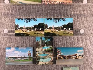 lot of 10 Vintage Postcards   Arkansas   Postmark 1914 Church  Buildings  landscape