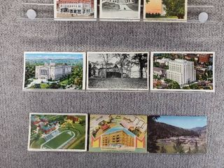 lot of 10 Vintage Postcards   Ohio  New York   New Mexico   Postmark 1943  1938  1906 Historical landscape   Includes Real Picture Postcard s