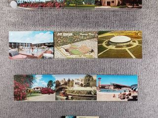 lot of 10 Vintage Postcards   Texas   Postmark 1952  1963 Hotels   Scenic