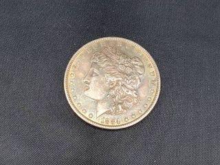 1884 USA Morgan Dollar Silver Coin