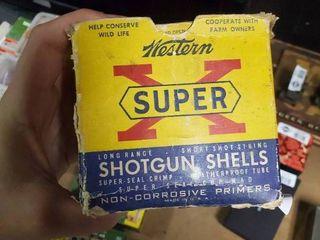 Partial Box of Super X 12 Gauge Shotgun Shells
