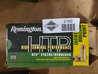 1 Box of Remington 40 Smith and Wesson