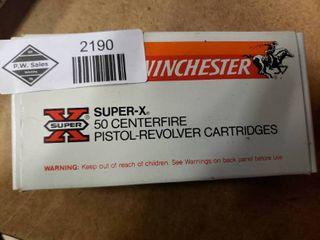 Full Box of Winchester 380 Auto