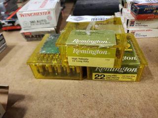 2 5 Boxes Remington  22 Ammo