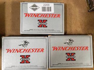 3 Boxes Winchester 12 Gauge 00 Buck Shotgun Shells