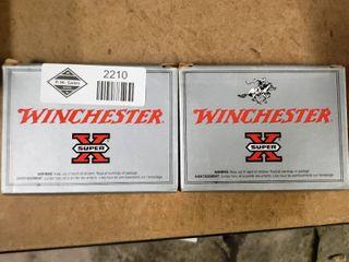 2 Boxes Winchester 12 Gauge 00 Buck Shotgun Shells