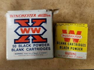Box Winchester 32 Smith and Wesson Black Powder Blanks