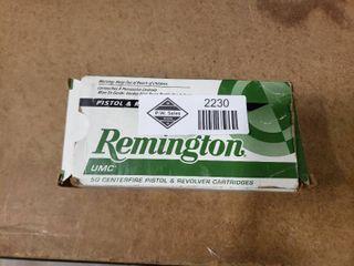 Partial Box Remington  44 Ammo