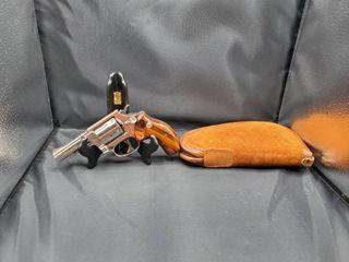 Smith   Wesson Model 36 1  38 Special 3  Barrel Nickel