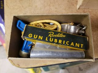 lot of Gun lubricant and Replacement Firing Pins