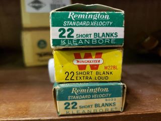 3 Boxes of  22 Short Blanks