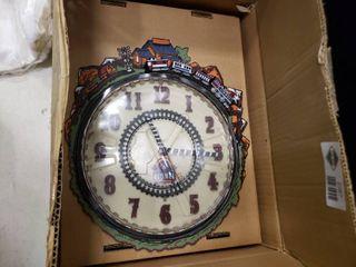 lionel Train Clock