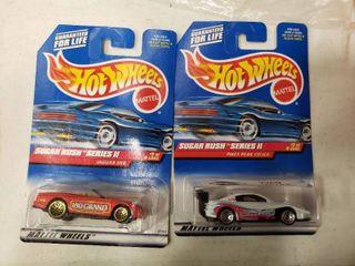 2 Hot Wheels Sugar Rush Series 2 Cars