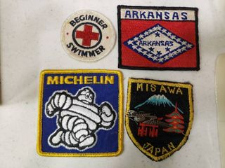 lot of 4 Sew On Patches