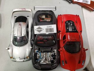3 Model Cars