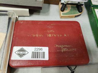 Chapman Screwdriver Kit