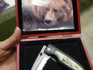 Pair of Bear Pocket Knives
