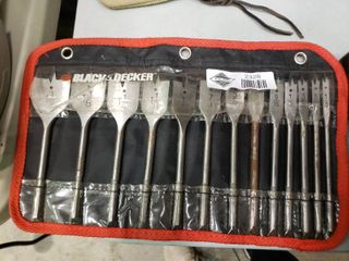 Black and Decker Spade Bit Kit