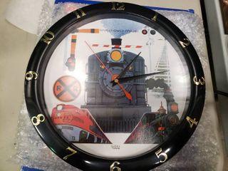 Musical Train Clock with Train Sound