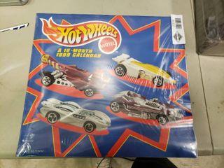1999 16 Month Hot Wheels Calendar