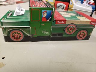 Craftsman 5 Piece Screwdriver Set in Vintage Collectors Truck Tin