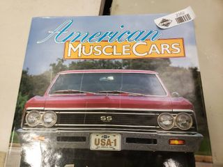 Hardback American Muscle Cars by Jim Campisano and John Force Castrol GTX Magazine Excerpt