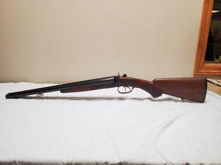 Intrac Arms 12 g double barrel reproduction coach gun  20  barrels