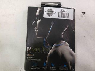 Amplify Wireless Headphones