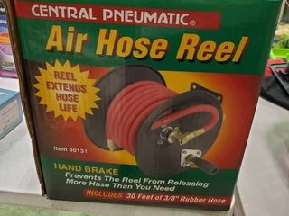 New Air Hose Reel with 30 Ft of Hose