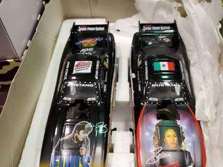 2 Mac Tools Motor Sports Die Cast Drag Cars