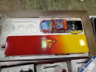 Mac Tools Collectors Club Superman Die Cast Truck and Enclosed Trailer