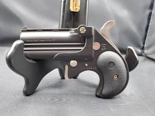 Cobra Enterprise Inc CB9 9mm Black Derringer with Black Cerakote Finish