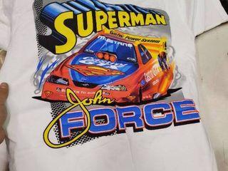 Medium John Force Superman Shirt