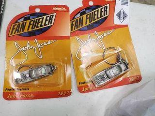 Fan Fueler John Force Key Chains